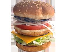 #1 Blue Chip Burger Combo