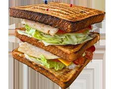 #10 Turkey Club Sandwich